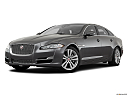 2019 Jaguar XJL Portfolio, front angle medium view.