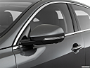 2019 Jaguar XJL Portfolio, driver's side mirror, 3_4 rear
