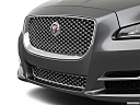 2019 Jaguar XJL Portfolio, close up of grill.