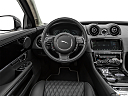 2019 Jaguar XJL Portfolio, steering wheel/center console.