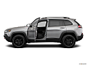 2019 Jeep Cherokee Trailhawk Elite, driver's side profile with drivers side door open.