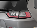 2019 Jeep Cherokee Trailhawk Elite, passenger side taillight.