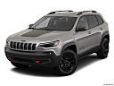 2019 Jeep Cherokee Trailhawk Elite, front angle view.