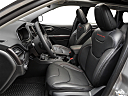 2019 Jeep Cherokee Trailhawk Elite, front seats from drivers side.