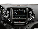 2019 Jeep Cherokee Trailhawk Elite, closeup of radio head unit