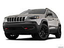 2019 Jeep Cherokee Trailhawk Elite, front angle view, low wide perspective.