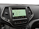 2019 Jeep Cherokee Trailhawk Elite, driver position view of navigation system.