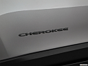 2019 Jeep Cherokee Trailhawk Elite, rear model badge/emblem