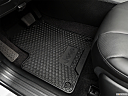 2019 Jeep Cherokee Trailhawk Elite, driver's floor mat and pedals. mid-seat level from outside looking in.