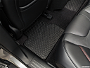 2019 Jeep Cherokee Trailhawk Elite, rear driver's side floor mat. mid-seat level from outside looking in.