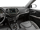 2019 Jeep Cherokee Trailhawk Elite, center console/passenger side.