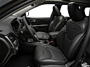 2019 Jeep Cherokee Limited, front seats from drivers side.