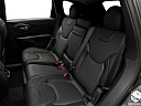 2019 Jeep Cherokee Limited, rear seats from drivers side.