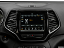 2019 Jeep Cherokee Limited, closeup of radio head unit