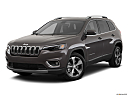 2019 Jeep Cherokee Limited, front angle medium view.