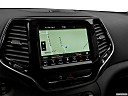 2019 Jeep Cherokee Limited, driver position view of navigation system.