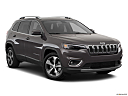 2019 Jeep Cherokee Limited, front passenger 3/4 w/ wheels turned.