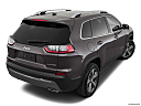 2019 Jeep Cherokee Limited, rear 3/4 angle view.