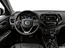 2019 Jeep Cherokee Limited, steering wheel/center console.