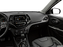 2019 Jeep Cherokee Limited, center console/passenger side.
