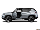 2019 Jeep Compass Trailhawk, driver's side profile with drivers side door open.