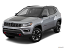 2019 Jeep Compass Trailhawk, front angle view.