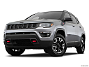 2019 Jeep Compass Trailhawk, front angle view, low wide perspective.