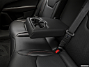 2019 Jeep Compass Trailhawk, rear center console with closed lid from driver's side looking down.