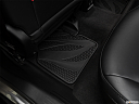 2019 Jeep Compass Trailhawk, rear driver's side floor mat. mid-seat level from outside looking in.