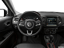 2019 Jeep Compass Trailhawk, steering wheel/center console.