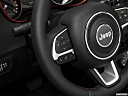 2019 Jeep Compass Trailhawk, steering wheel controls (left side)