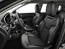 2019 Jeep Compass Altitude, front seats from drivers side.