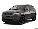 2019 Jeep Compass Altitude, front angle medium view.