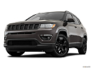 2019 Jeep Compass Altitude, front angle view, low wide perspective.
