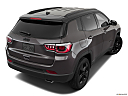2019 Jeep Compass Altitude, rear 3/4 angle view.