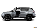 2019 Jeep Compass Limited, driver's side profile with drivers side door open.