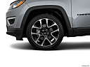 2019 Jeep Compass Limited, front drivers side wheel at profile.