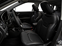 2019 Jeep Compass Limited, front seats from drivers side.