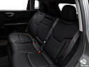 2019 Jeep Compass Limited, rear seats from drivers side.