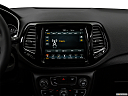 2019 Jeep Compass Limited, closeup of radio head unit