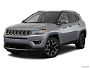 2019 Jeep Compass Limited, front angle medium view.