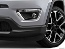 2019 Jeep Compass Limited, driver's side fog lamp.