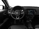 2019 Jeep Compass Limited, steering wheel/center console.