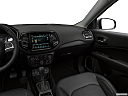 2019 Jeep Compass Limited, center console/passenger side.