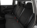 2019 Jeep Compass Sport, rear seats from drivers side.