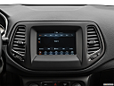 2019 Jeep Compass Sport, closeup of radio head unit