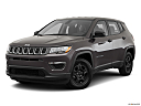 2019 Jeep Compass Sport, front angle medium view.