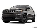 2019 Jeep Compass Sport, front angle view, low wide perspective.