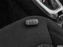 2019 Jeep Compass Sport, key fob on driver's seat.