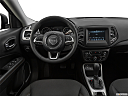 2019 Jeep Compass Sport, steering wheel/center console.